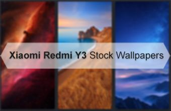 Xiaomi Redmi Y3 Stock Wallpapers