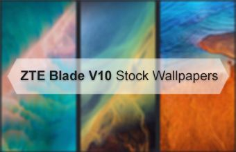 ZTE Blade V10 Stock Wallpapers