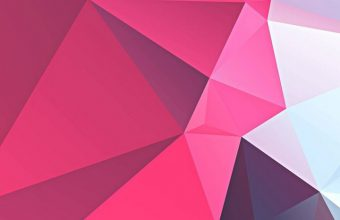 3D Pink Polygon Wallpaper 720x1544 340x220