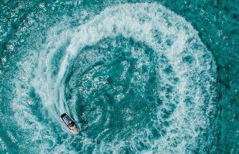 Aerial View Ocean Wallpaper 720x1544 340x220