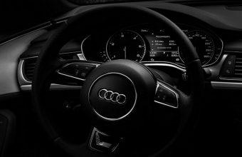 Audi Steering Wheel Wallpaper 720x1544 340x220