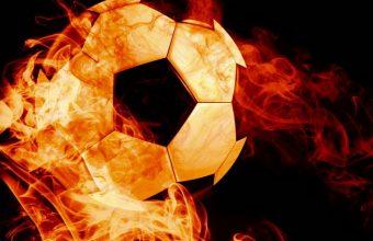 Ball Fire Football Wallpaper 720x1544 340x220