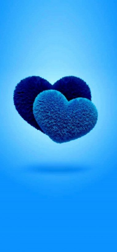 Blue Love Wallpaper 720x1544 380x815