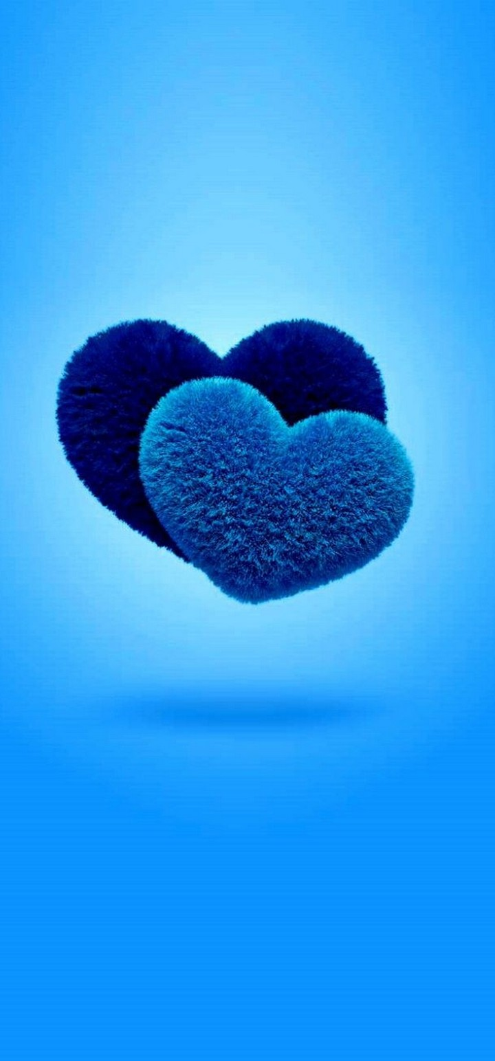 Blue Love Wallpaper 720x1544