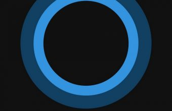 Bluish Circles Minimal Wallpaper 720x1544 340x220
