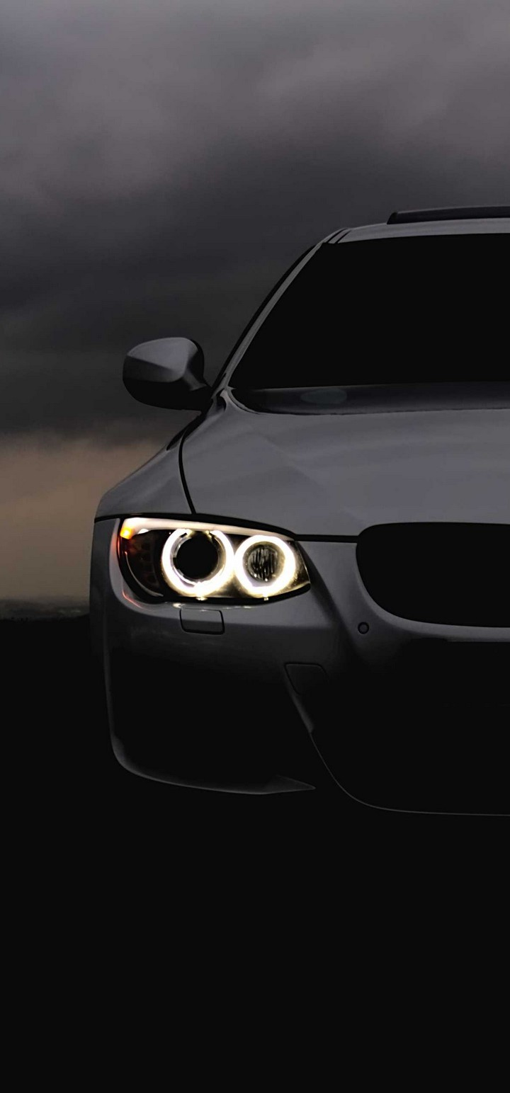 Bmw Headlights Car Wallpaper 720x1544