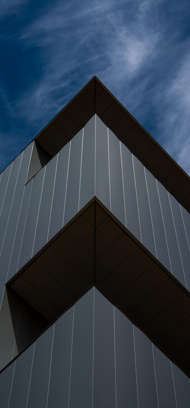 Building Architecture Facade Wallpaper 720x1544