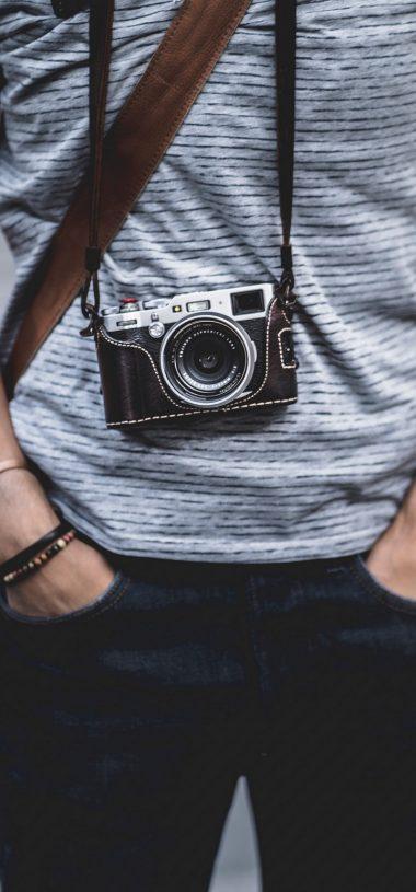 Camera Strap Lens Wallpaper 720x1544 380x815