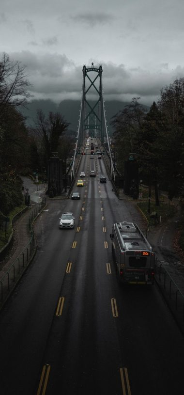 Canada Road Bridge Wallpaper 720x1544 380x815
