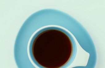 Cup Top View Minimalism Wallpaper 720x1544 340x220