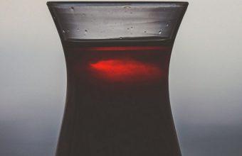 Dark Glass Juice Drink Wallpaper 720x1544 340x220