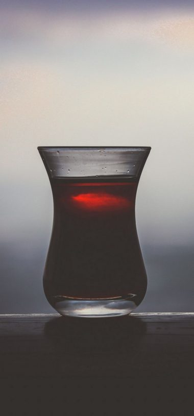 Dark Glass Juice Drink Wallpaper 720x1544 380x815