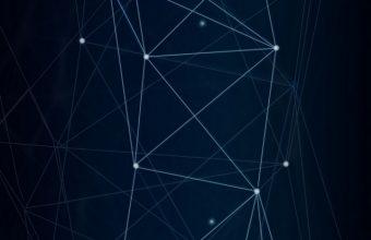 Dark Network Connection Wallpaper 720x1544 340x220