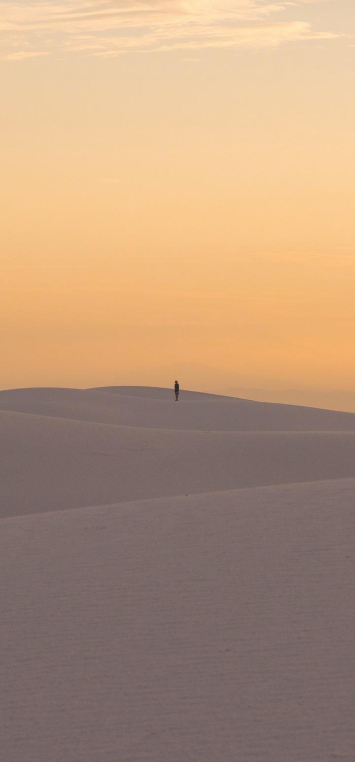 Desert Dunes Sand Wallpaper 720x1544
