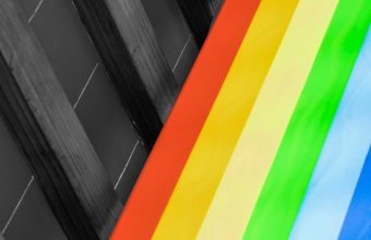 Design Colorful Rainbow Wallpaper 720x1544 340x220