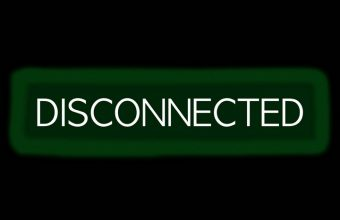 Disconnected Disconnect Inscription Wallpaper 720x1544 340x220