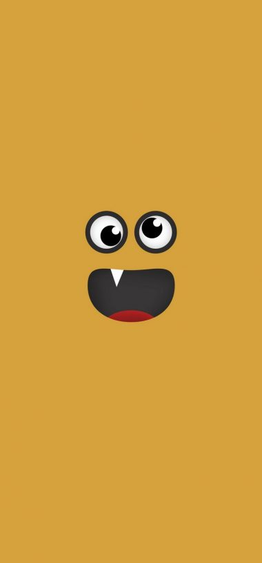 Face Funny Art Wallpaper 720x1544 380x815