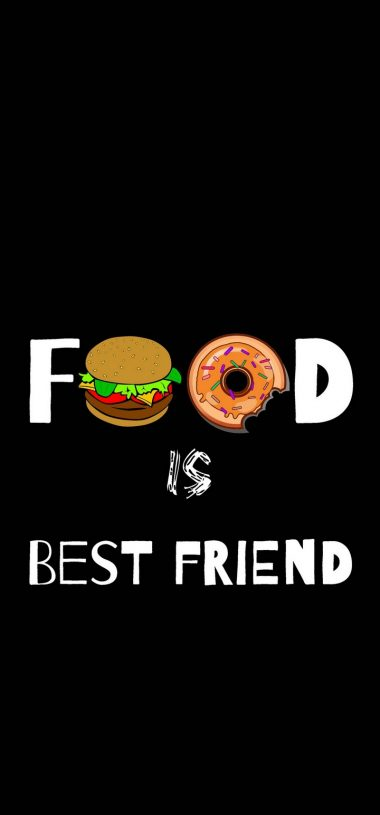 Food Love Real Love Funny Wallpaper 720x1544 380x815