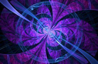Fractal Lines Circles Wallpaper 720x1544 340x220