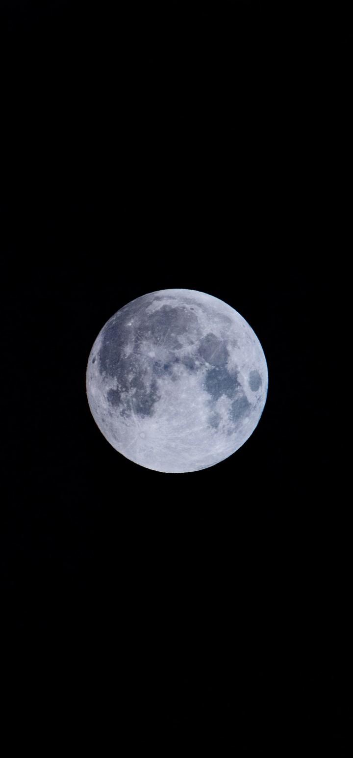 Full Moon Moon Satellite Wallpaper 720x1544