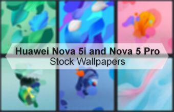 Huawei Nova 5i and Nova 5 Pro Stock Wallpapers
