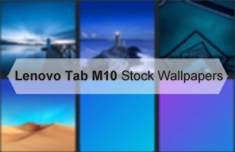 Lenovo Tab M10 Stock Wallpapers