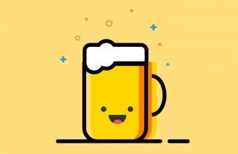 Minimal Emoji Cup Of Tea Wallpaper 720x1544 340x220