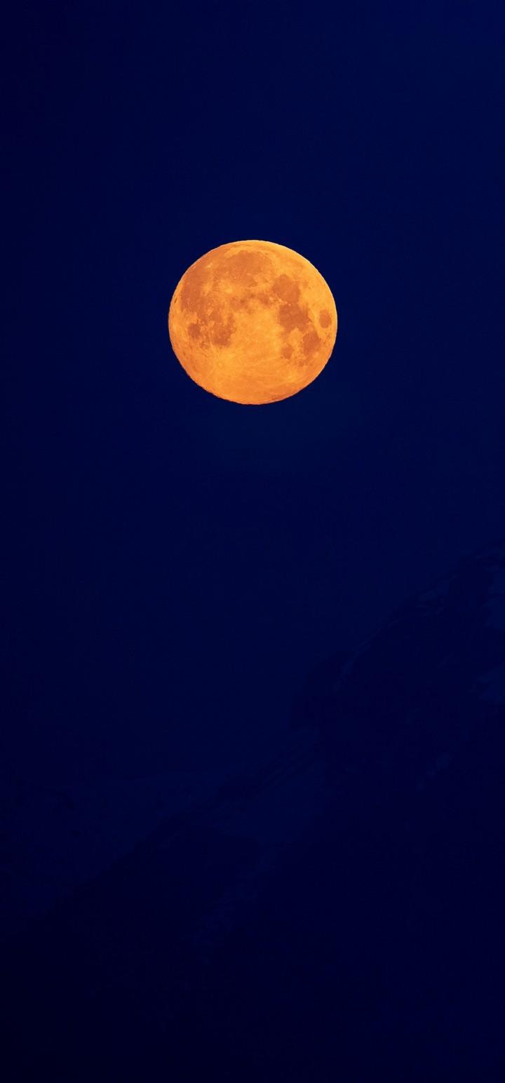 Moon Full Moon Night Wallpaper 720x1544