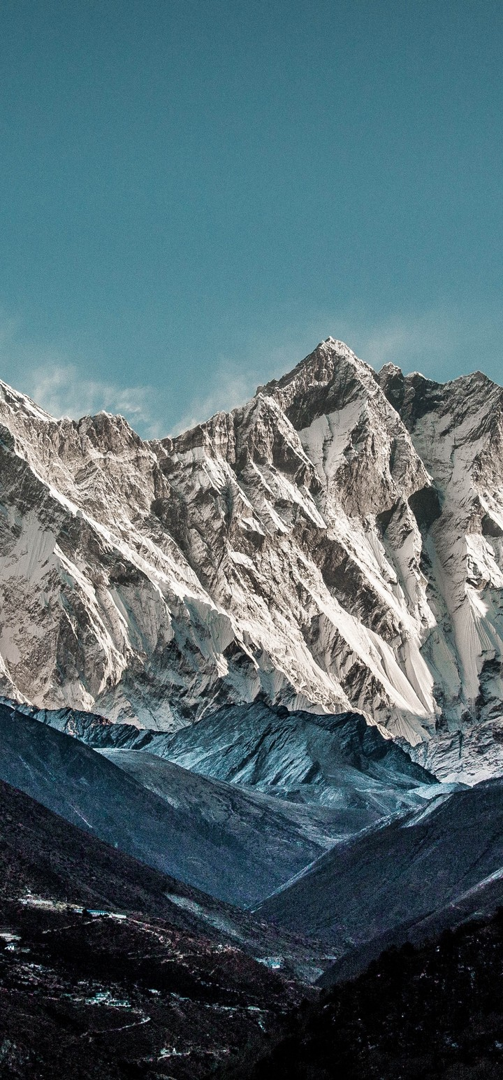 Mountain High Beautiful Landscape Wallpaper 720x1544