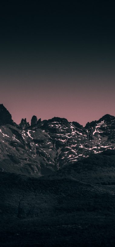 Mountains Landscape Twilight Wallpaper 720x1544 380x815