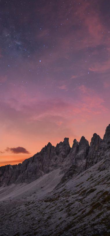 Mountains Mountain Range Landscape Wallpaper 720x1544 380x815
