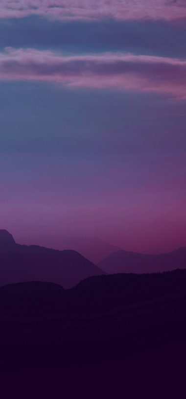 Mountains Twilight Landscape Wallpaper 720x1544 380x815