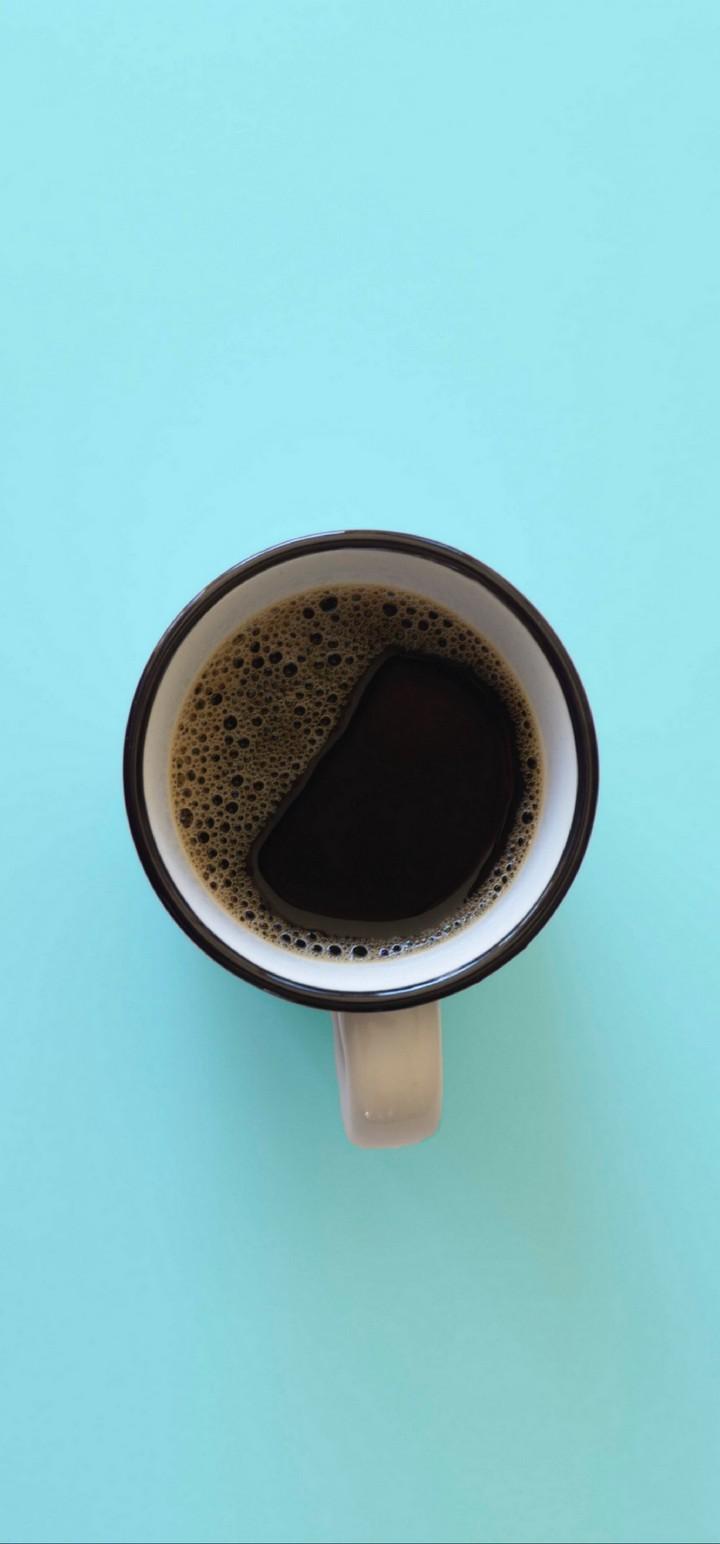 Mug Coffee Top View Wallpaper 720x1544