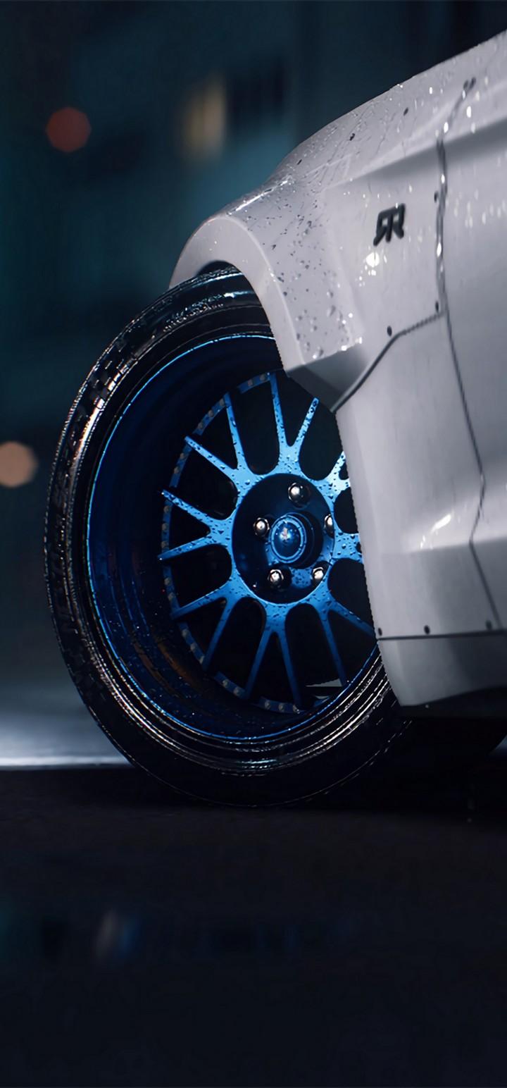 Mustang Gt Mustang Wheel Wallpaper 720x1544