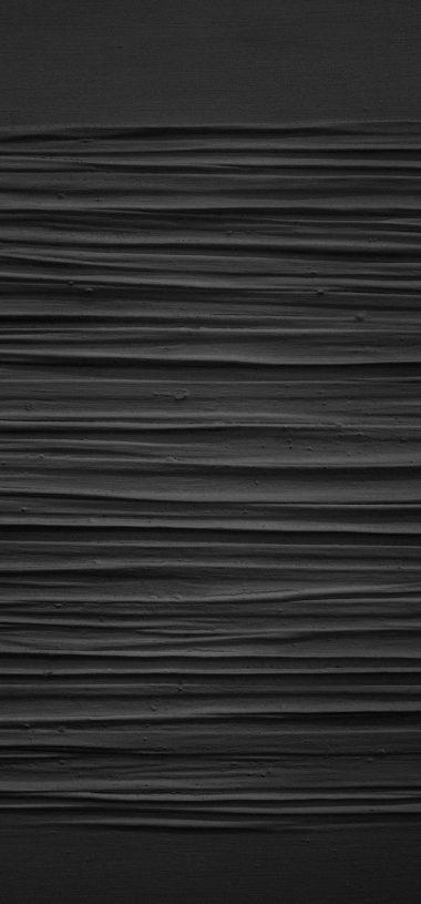 Paint Black Texture Wallpaper 720x1544 380x815