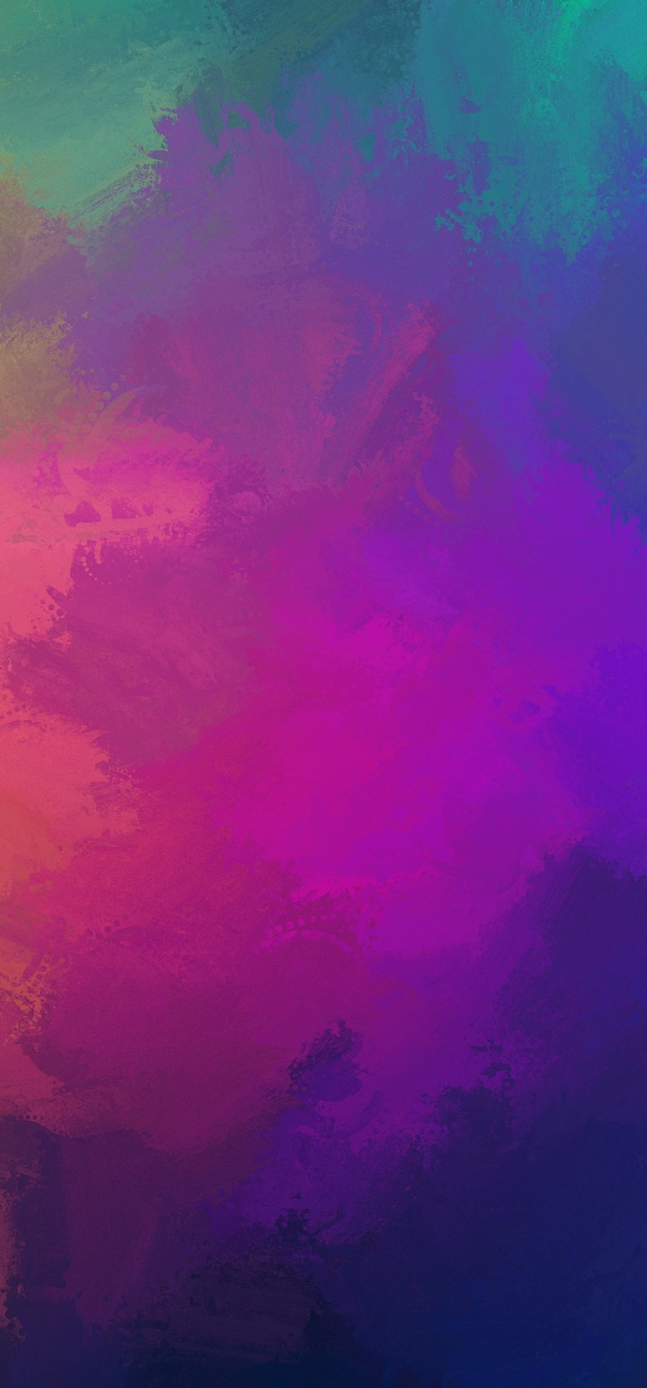 Paint Colorful Overlay Wallpaper 720x1544