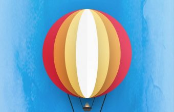 Parachute Minimal Wallpaper 720x1544 340x220