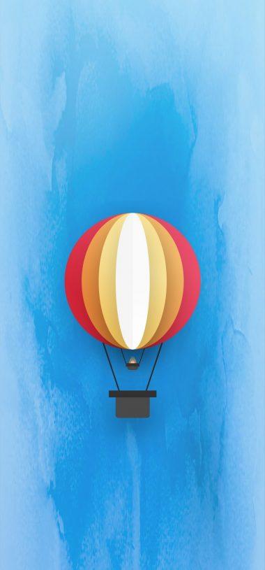 Parachute Minimal Wallpaper 720x1544 380x815