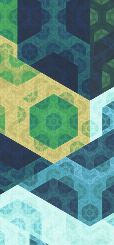 Pattern Geometric Colorful Wallpaper 720x1544 380x815