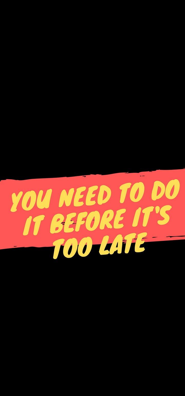 Phrase Motivation Inspiration Wallpaper 720x1544