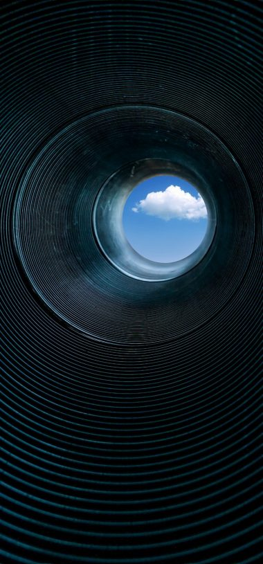 Pipe Rings Cloud Wallpaper 720x1544 380x815