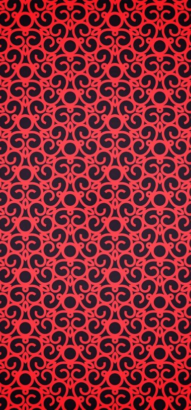 Red Pattern Texture Wallpaper 720x1544 380x815