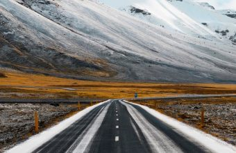 Road Marking Mountains Direction Wallpaper 720x1544 340x220