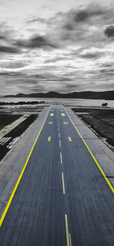 Road Markings Overcast Wallpaper 720x1544 380x815