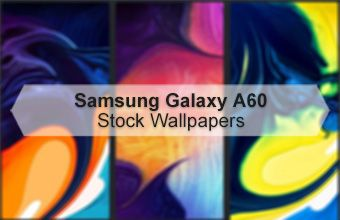 Samsung Galaxy A60 Stock Wallpapers
