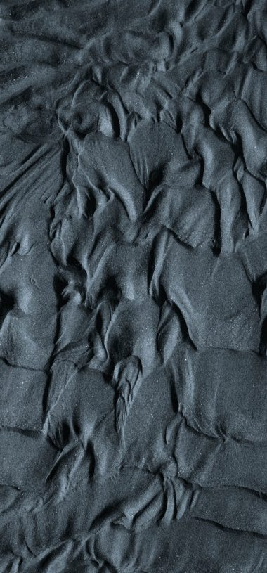 Sand Wavy Gray Wallpaper 720x1544 380x815