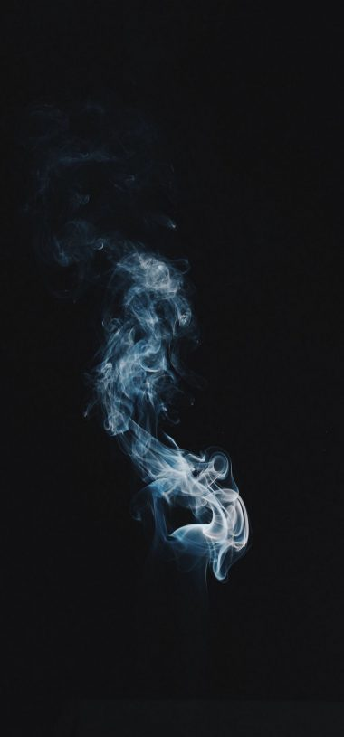 Smoke Clot Darkness Wallpaper 720x1544 380x815