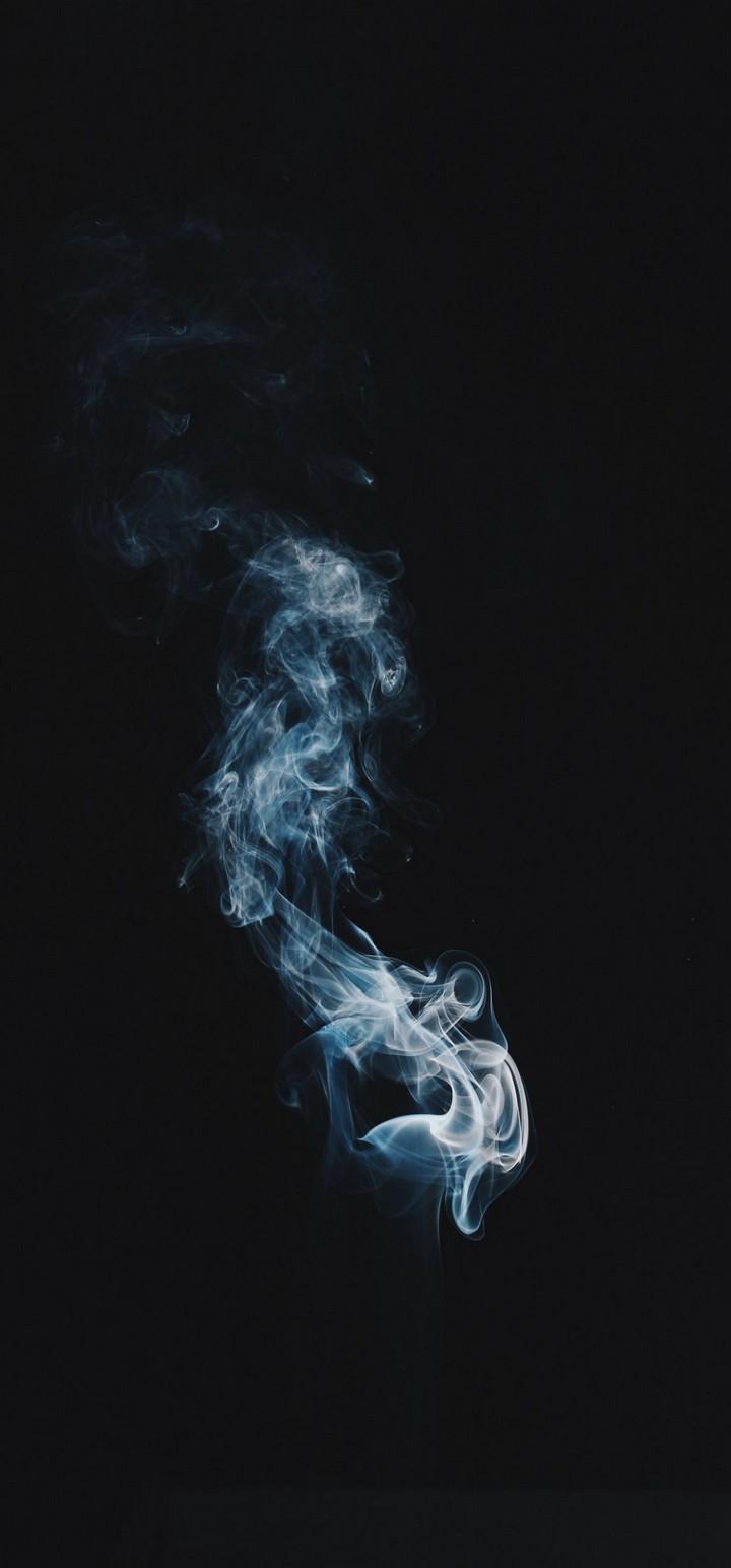 Smoke Clot Darkness Wallpaper 720x1544