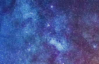 Starry Sky Milky Way Glitter Wallpaper 720x1544 340x220