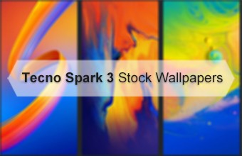 Tecno Spark 3 Stock Wallpapers